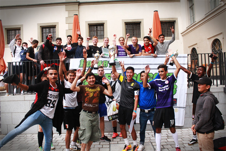 Rotary Streetsoccer Matchdays Augsburg 2016 Finale SJR